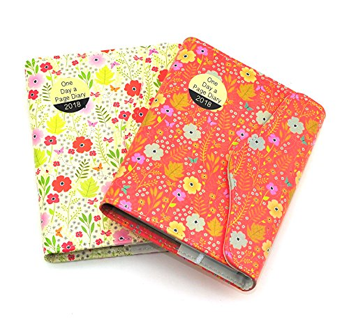 1x A6 2018 Day A Page Diary Organiser Magnetic Closure- for sale  Delivered anywhere in Ireland