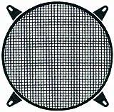 Phonocar 3/038Rundes Lüftungsgitter für Lautsprecher 380mm schwarz INOXIDABLE