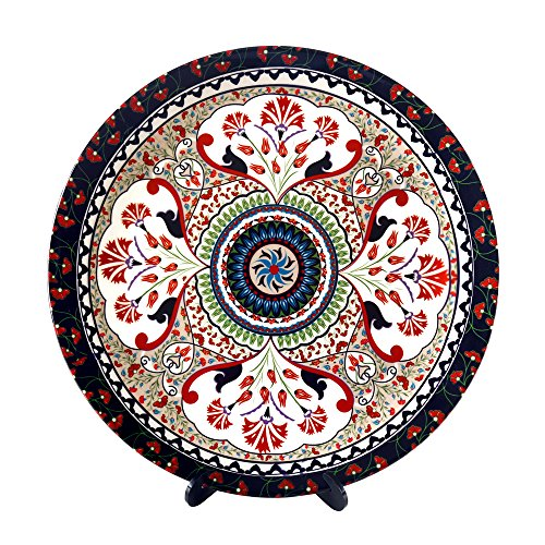 Kolorobia Turkish Fervor Decorative Plate 7.5 inches