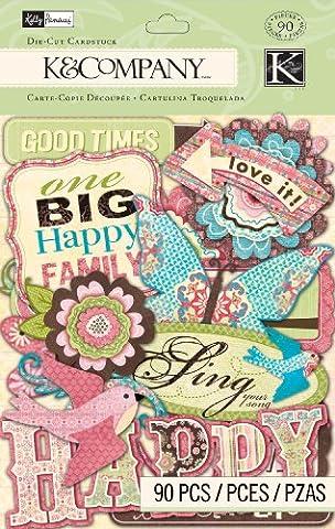 Kelly Panacci K and Company Blossom Die-Cut Card Stock