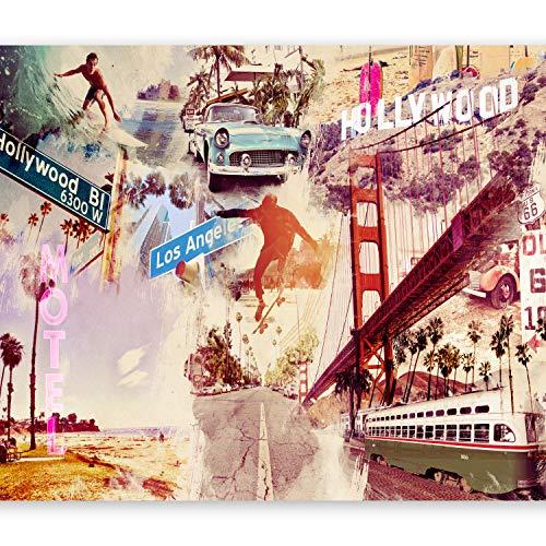 murando - Fototapete 200x140 cm - Vlies Tapete - Moderne Wanddeko - Design Tapete - Wandtapete - Wand Dekoration - Usa 10110904-5