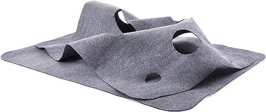 CanadianCat Company Spielteppich XXL für Katzen 90 x 120 cm Katzenspielteppich in grau