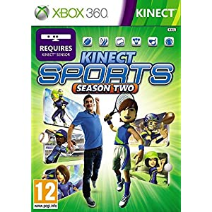 Kinect Sports: Season Two, Xbox 360, PAL, DVD, FRE