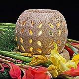 #3: Kartique Ceramic Electric Diffuser | Round Shape | Night Lamp | Light | With 10 Ml Aroma Oil Lemon Grass & Replacment Bulb