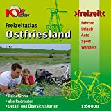 Ostfriesland Freizeitatlas: Reiseführer mit 45 kompakten Ortsportraits