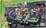 Mega Bloks–Bebop und seine Band-Bösewichte, Ninja Turtles, Baukasten (Mattel dmw29)