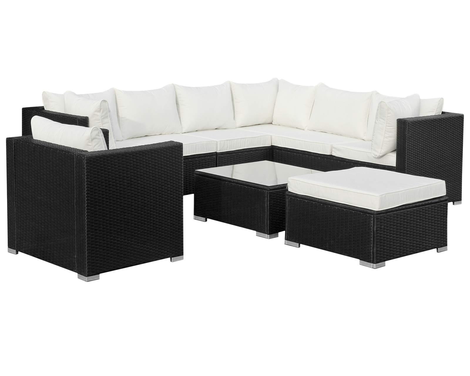 Hansson Polyrattan Lounge Sitzgruppe Gartenmöbel Garnitur Poly