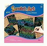 Mammut Scratch Art Fantasie, je Circa 14, 5 x 20 cm