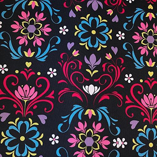 Erstklassiger Polyester Oxford 250D 1lfm - Wasserabweisend, Winddicht, Outdoor Stoff, Gartenmöbel Stoff - Muster 14 -