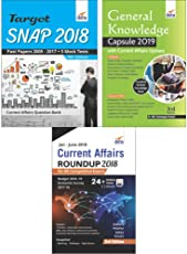 SNAP 2018 Simplified (13 yrs. Past papers + 5 Mock Tests + General Knowledge/ Current Affairs)