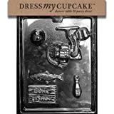 Dress My Cupcake dmcs102 Chocolate Candy Mold, Pesca Bundle para caja de Especialidad