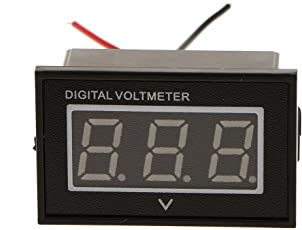 Non-brand 36 V Blaue LED Digital Volt Meter Spannung Batterieanzeige Tester Anzeige Für EZGO Club Auto Yamaha Golf Warenkorb