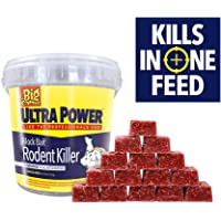 The Big Cheese Ultra Power Block Rodent Killer Station Bait Refills, Red, 15 x 20 g