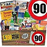DDR Geschenk | Zahl 90 | Geschenkkorb Papa | Spezialitäten Geschenk