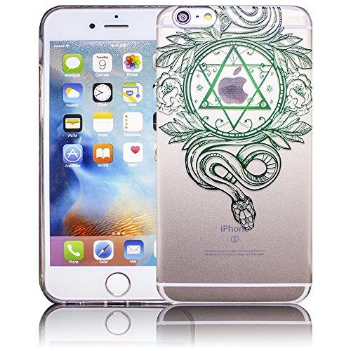 Apple iPhone 6 Plus / iPhone 6S Plus - Design 11 Silikon Crystal Kristall clear transparent durchsichtig Schutz-Hülle Hülle weiche Tasche Cover Case Bumper Etui Flip smartphone handy backcover Schutzh Design 9