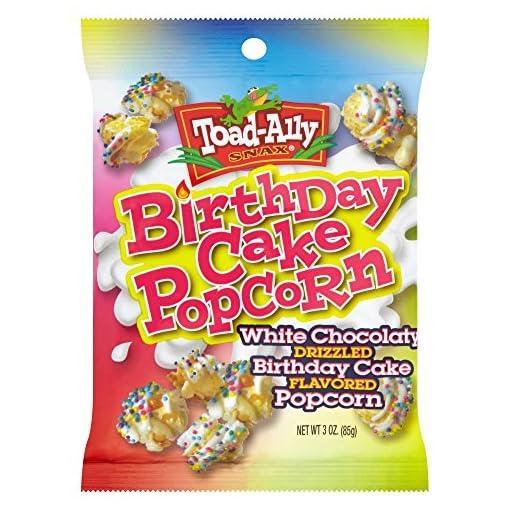 Toad-Ally Snax Birthday Cake Popcorn, 85 g 61EzPi64E5L