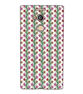 Fuson Designer Back Case Cover for Gionee Elife E8 (Pink flower pattern theme)