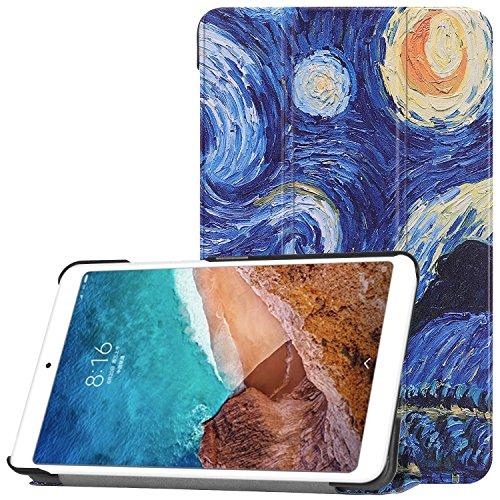 Sportfun Cover Xiaomi Mi Pad 4, Slim Custodia con Funzione di Auto Sveglia/Sonno Case Protettiva in pelle PU per Xiaomi Mi Pad 4 7.9 Pollici 2018 Tablet
