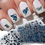 24 Hojas Demarkt 3D Mixed Color Calcomanías y autoadherentes Diseño De La Flor Nail Art PegatinasCalcomanías Manicura Hermosa Decoración de Accesorios de Moda