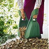 UPP Products hojas garra 2piezas de plástico Top de calidad. Recoger Hojas//hojas Pala Rastrillo/Mano