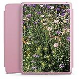 DeinDesign Apple iPad 5 Smart Case rosa Hülle mit Ständer Schutzhülle Blumenwiese Wildblumen Blumenfeld