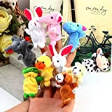 #8: Styleys Finger Puppets, Multi Color - Pack of 10