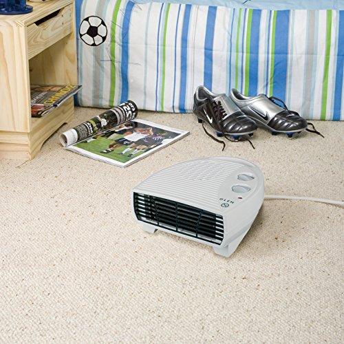 Glen GF30TSN 3KW Fan Heater, Plastic, 3000 W, White