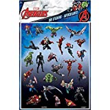 100 Marvel Avengers Superhero Stickers (4 Sheets of 25)