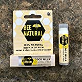 BEE NATURAL COCO NILLA Lippenpflegestift Vanille...
