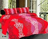 #8: Royal Ethnic Double bedsheet cotton queen size Indian 180TC with 2 Pillow Covers