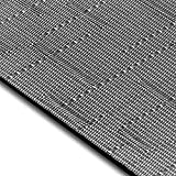 Design Bodenschutzmatte Siena in 6 Größen | dekorative Unterlegmatte für Bürostühle oder Sportgeräte (100 x 180 cm)