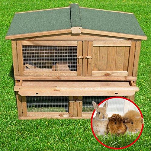 Stall Nr 2 Kaninchenstall Hasenstall Kaninchenkäfig Hasenkäfig Meerschweinchenstall - 6