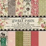 Dovecraft Sweet Paris - Carta FSC