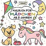 Malbuch Mädchen ab 2 Jahren: Mein erster Malspaß im großen Quadrat - Sammabu Edition