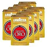 Lavazza Kaffee Qualità ORO, gemahlener Bohnenkaffee (8 x 500g)