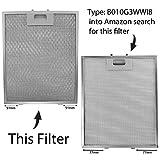 Spares2go Universal Dunstabzugshaube Metall Fettfilter (Silver, 320 x 260mm) (2 stück) für Spares2go Universal Dunstabzugshaube Metall Fettfilter (Silver, 320 x 260mm) (2 stück)