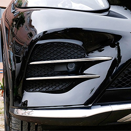 Auto Accessores ABS Chrom Lufteinlass Gitter Streifen Trim Auto Zubehör 4
