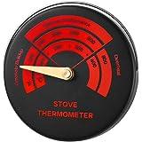 Ofenthermometer Rohr Thermometer Messgerät für Kaminofen
