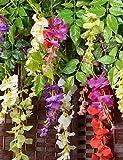 Aufrechtzuerhalten,Künstliche Blumen, Seide / Kunststoff Lila Künstliche Blumen , white