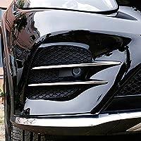 Accesorios para coches rejilla cromada de entrada de aire de ABS, 4 unidades