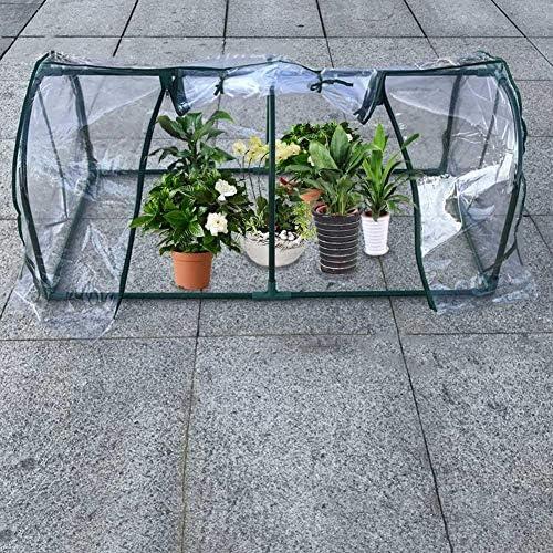 La Mini Serre de pour Jardin, Plastique Transparent élèvent la ...