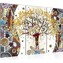648fe883b5e9 Photo Gustav Klimt - Arbre de vie Décoration Murale 120 x 80 cm Toison -  Toile