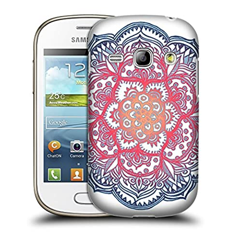 Official Micklyn Le Feuvre Radiant Medallion Doodle Mandala 3 Hard Back Case for Samsung Galaxy Fame S6810