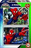 Spiderman - Puzzle, 2 x 100 piezas (Educa Borrás 17171)