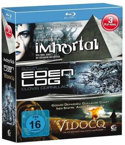 Bild von Sci-Fi Box - Boxset mit 3 Sci-Fi-Knallern (Immortal, Eden Log, Vidocq) [3 Blu-rays]