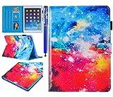 EUWLY Funda iPad 5/iPad 6/iPad 7/iPad 8/iPad Air/iPad Air 2, Carcasa iPad 5 iPad 6 iPad 7 iPad 8 Tablet Case Ultra Slim Ligera Premium PU Leather Smar