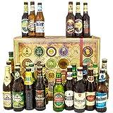 24x Bier aller Welt & Deutschland / 24 Flaschen Bier/Geschenke für Männer
