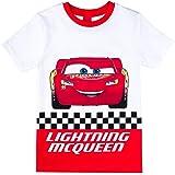 Disney Niños Cars Camiseta, Rojo