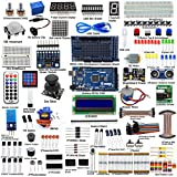 Adeept Ultimate Starter Kit for Arduino Mega2560, LCD1602, Stepper Motor, ADXL345, Arduino Starter...