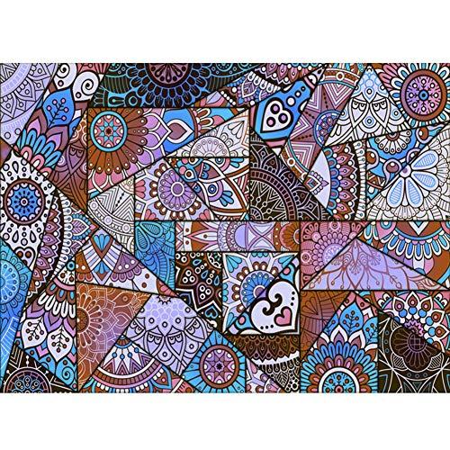 YXZN Klassische Traditionelle Teppiche Wohnzimmer Schlafzimmer Luxus Dekoration Vintage Floral Oriental Bereich Teppich Rutschfeste Durable Waschbar,Purple,160X230CM - Luxus Traditionelle Teppich